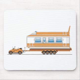 Barco de casa del coche de Eco Tapete De Ratones