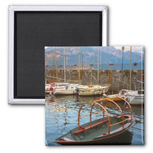 Barco de Como del lago del estilo tradicional Iman De Nevera