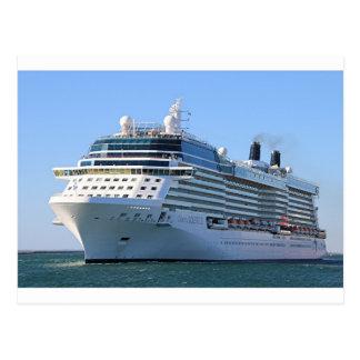 Barco de cruceros 8 postales