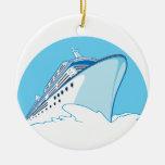 Barco de cruceros adorno