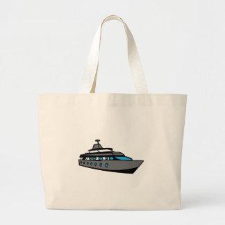 Barco de cruceros bolsa lienzo