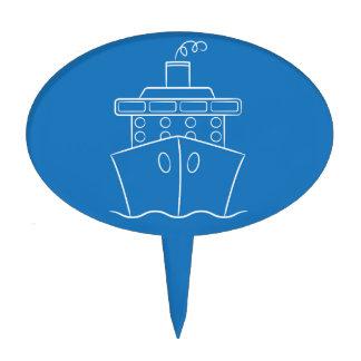 Barco de cruceros decoraciones para tartas