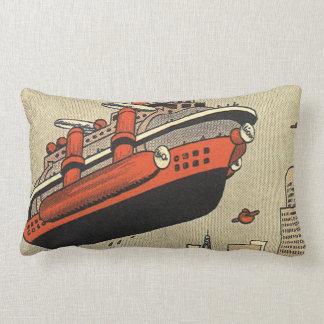 Barco de cruceros del helicóptero de la ciencia almohadas