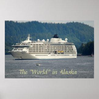 Barco de cruceros del mundo en AK Posters