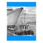 Barco de cruceros del remolque del barco del tirón