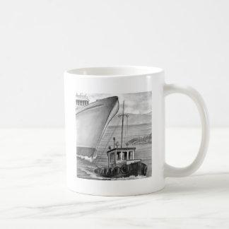 Barco de cruceros del remolque del barco del tirón taza