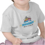 Barco de cruceros divertido camiseta