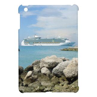 Barco de cruceros en caso del iPad de CocoCay el m