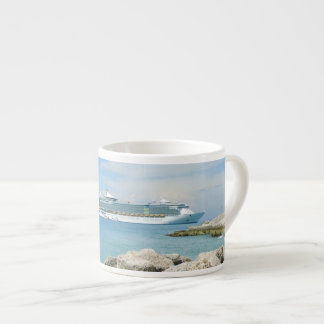 Barco de cruceros en CocoCay Taza Espresso