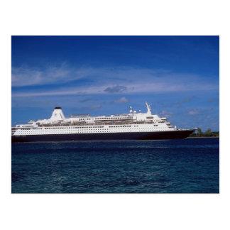 Barco de cruceros, Nassau, Bahamas Tarjetas Postales