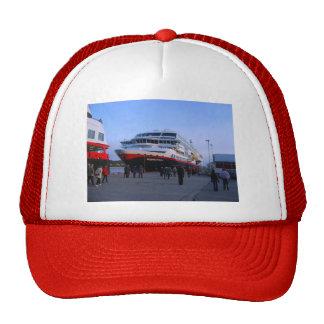 Barco de cruceros noruego gorro de camionero