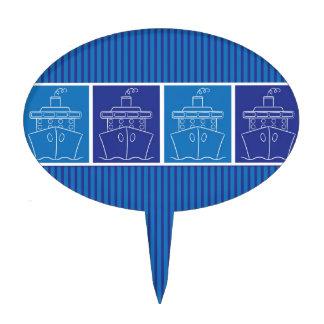 Barco de cruceros palillos de tarta