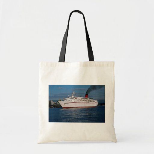 """Barco de cruceros """"princesa de Cunard """" Bolsas"""