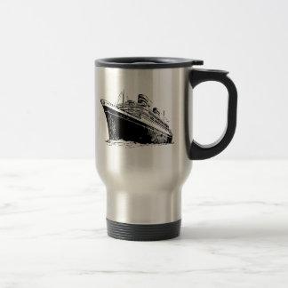 Barco de cruceros taza térmica