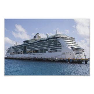 Barco de cruceros tropical fotografía