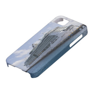 Barco de cruceros tropical iPhone 5 Case-Mate protectores