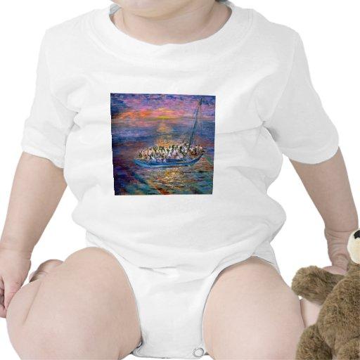 Barco de Haití Camiseta