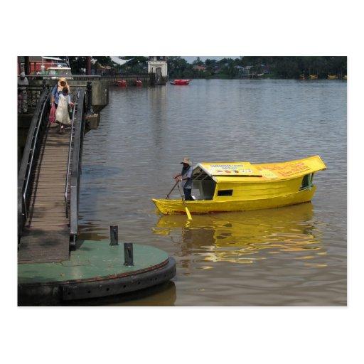 Barco de Kuchin Postales