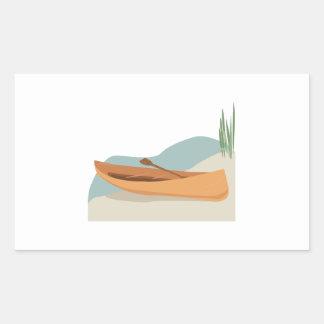 Barco de la canoa rectangular altavoces