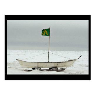 Barco de la caza de ballenas tarjetas postales