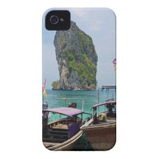 barco de la cola larga en Tailandia Carcasa Para iPhone 4 De Case-Mate