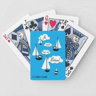 ¡Barco de la O.N.U del sur de los suis de Je! Cartas De Juego