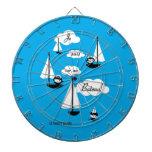¡Barco de la O.N.U del sur de los suis de Je! Tablero Dardos