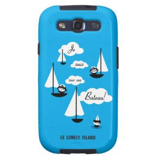 ¡Barco de la O N U del sur de los suis de Je Samsung Galaxy S3 Coberturas