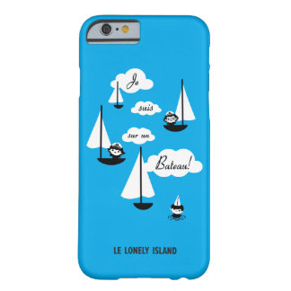 ¡Barco de la O.N.U del sur de los suis de Je! Funda Barely There iPhone 6