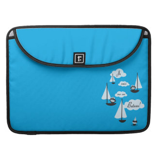 ¡Barco de la O.N.U del sur de los suis de Je! Funda Para Macbook Pro