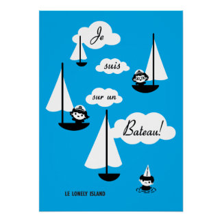 ¡Barco de la O.N.U del sur de los suis de Je! Posters