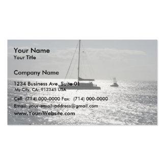 Barco de la orilla de Maui Plantillas De Tarjetas De Visita