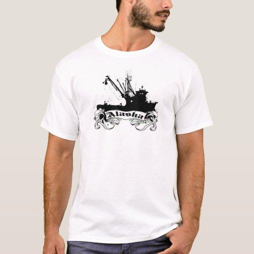 """""""Barco de la pesca profesional """" de Alaska Playera"""