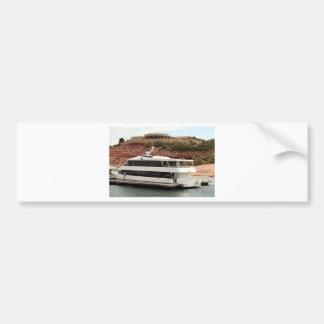 Barco de la princesa del barranco, lago Powell, Pegatina Para Coche