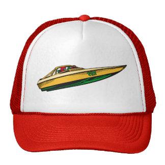 Barco de la velocidad gorro