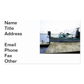 Barco de las papás plantillas de tarjetas personales
