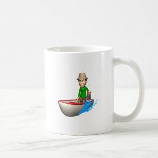 Barco de motor 2 taza