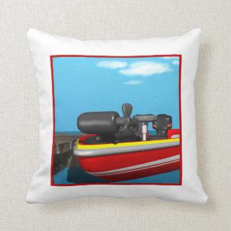 Barco de motor almohada