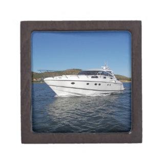 Barco de motor de lujo cajas de joyas de calidad