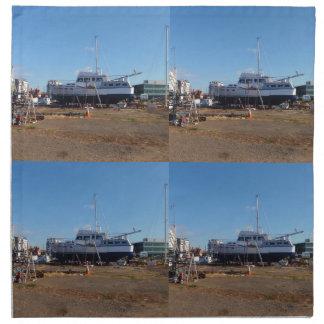 Barco de motor del fabricante del paso servilletas de papel