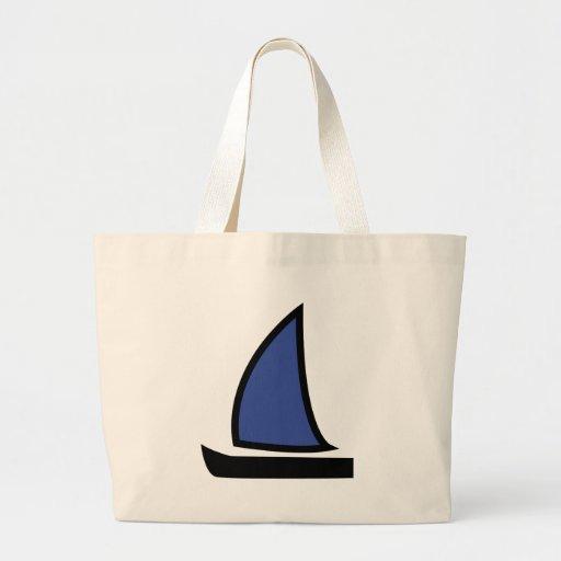 barco de navegación bolsa tela grande
