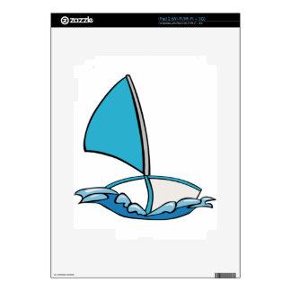Barco de navegación lindo calcomanías para iPad 2