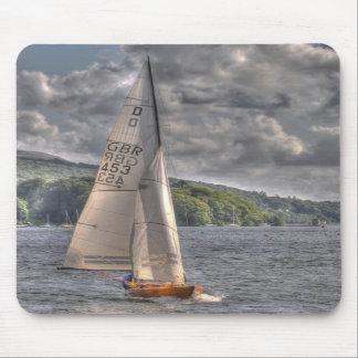 Barco de navegación alfombrillas de raton