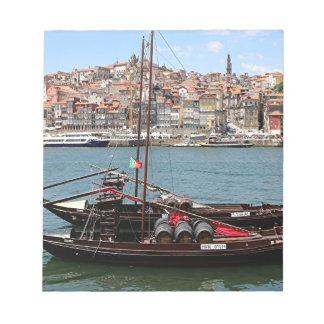 Barco de Oporto Offley, Portugal Bloc De Papel