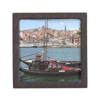 Barco de Oporto Offley, Portugal Caja De Recuerdo De Calidad
