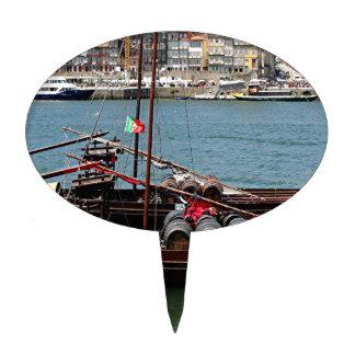 Barco de Oporto Offley, Portugal Decoración De Tarta