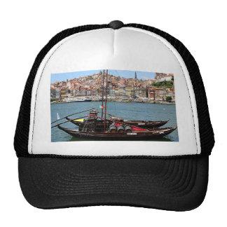Barco de Oporto Offley, Portugal Gorros Bordados