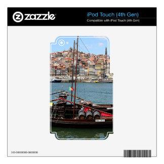 Barco de Oporto Offley, Portugal iPod Touch 4G Skin