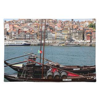Barco de Oporto Offley, Portugal Mantel