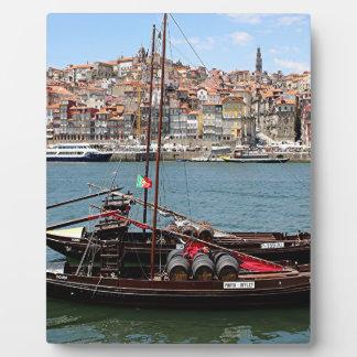 Barco de Oporto Offley, Portugal Placas De Madera